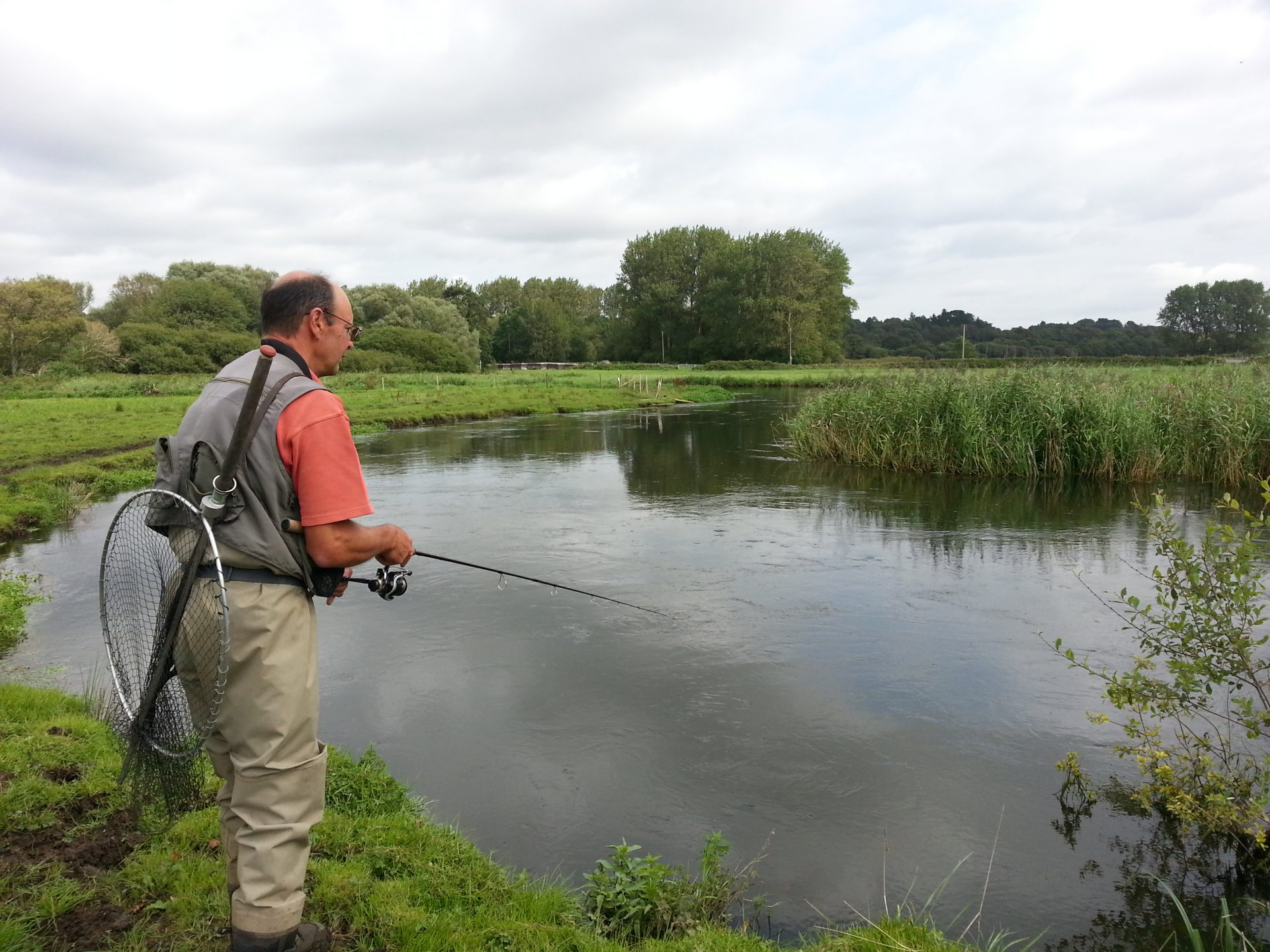 Freshwater Fishing Pictures Fishing the river frome in ...