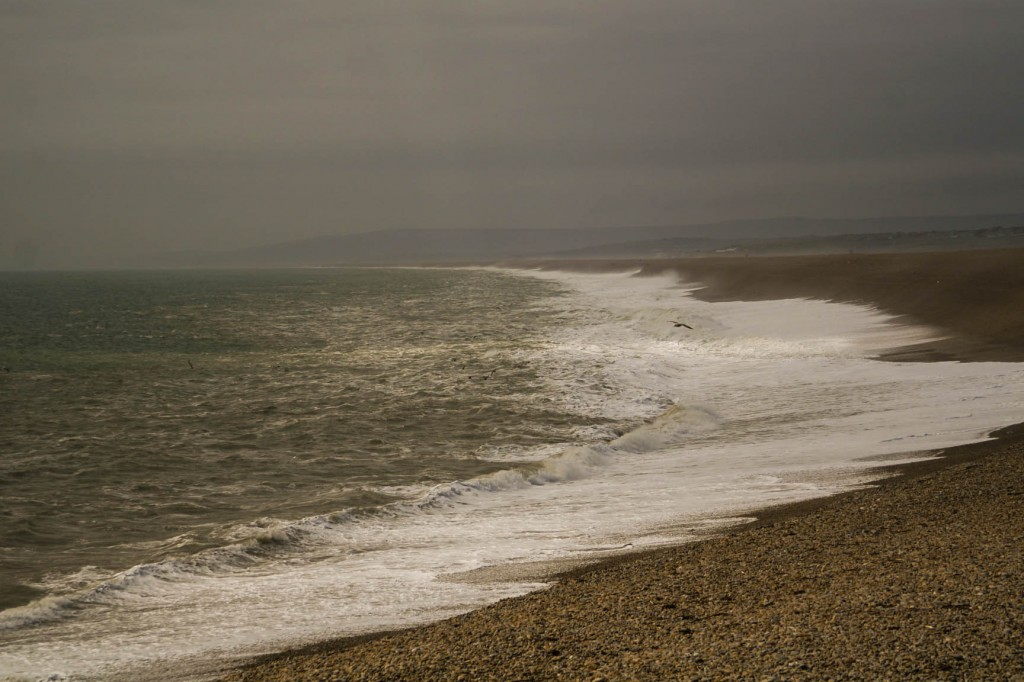 Chesil after a storm-3
