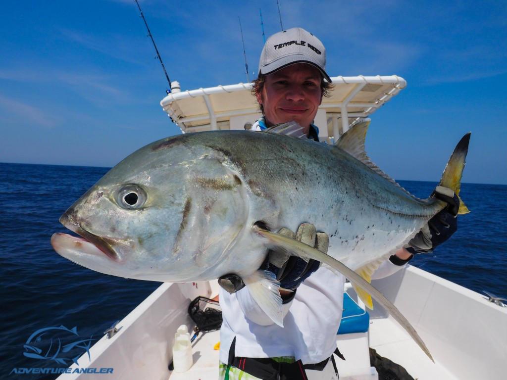 Lure fishing for GT's and other monsters in Oman